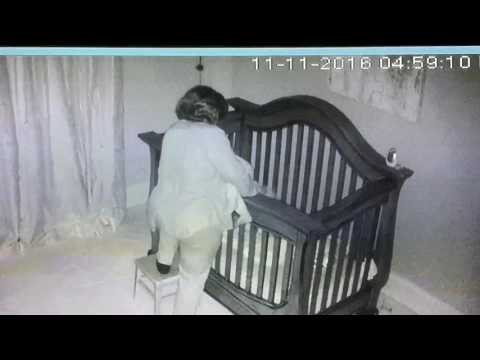 Grandma Puts Baby to Sleep in Crib, What Baby Cam Captures Next Earns Her Viral Fame
