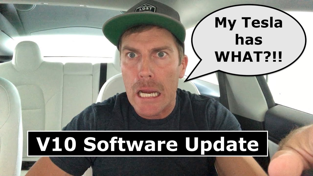 Tesla's V10 Software Update Quick Review - DON'T WATCH if you just bought anything else!