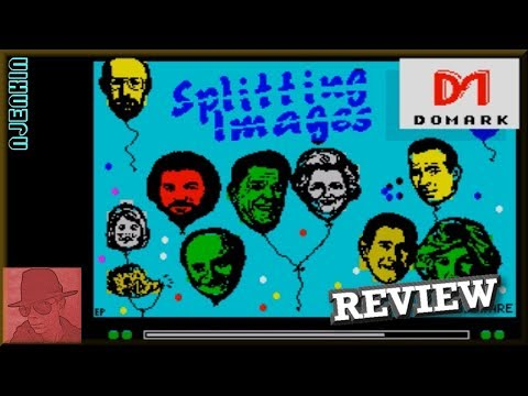 Splitting Images - on the ZX Spectrum 48K !! with Commentary