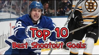 Top 10 Best Shootout Goals of 2016-17 NHL (HD)