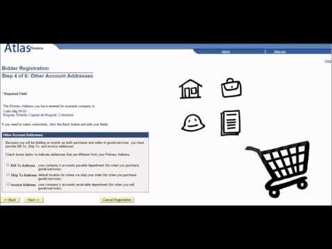 Video Instructivo del Sistema E-Tendering - Registro de Oferentes