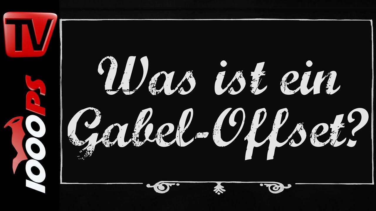 Was ist ein Gabel-Offset? - Motorrad Lexikon