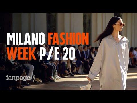 Milano Fashion Week P/E 2020: i backstage e le sfilate top della settimana della moda