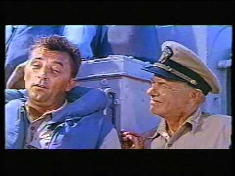 """""""The Enemy Below"""" (Dick Powell, 1957) -- The German Cinema-Trailer"""