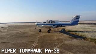 Airport Kikinda, Serbia - Piper Tomahawk PA38