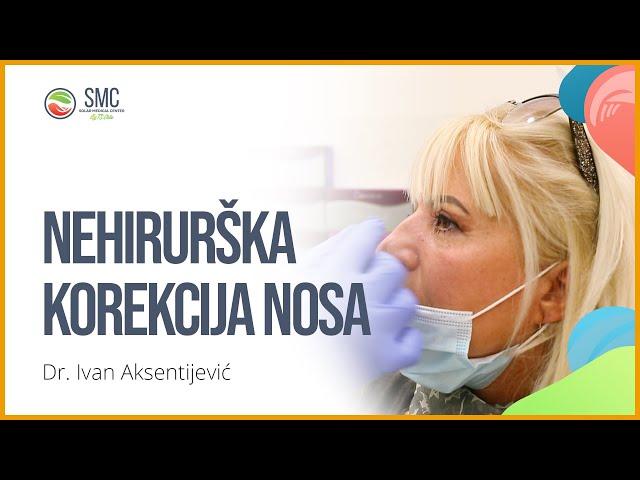 Nehirurska korekcija nosa