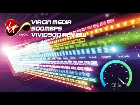 Virgin Media Vivid 500 Speed Test - 500mbps Broadband Package Review
