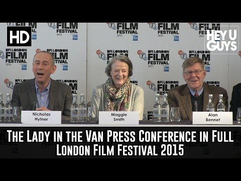 The Lady in the Van Press Conference in Full - Maggie Smith & Alan Bennett