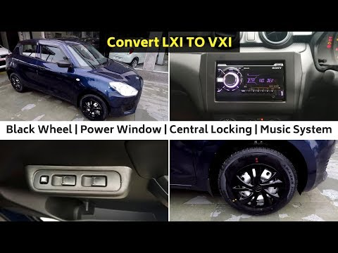 Swift 2018 Feature Packed Edition | Black Wheels | Music System | Ujjwal Saxena