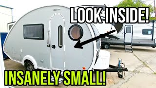 Tent Camping upgrade to a Crazy Small NuCamp T@B 400!
