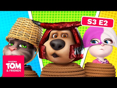NEW! Talking Tom and Friends - Superhero Picnic  | Season 3 Episode 2