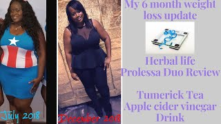 My weight loss update transformation/ Herbal life prolessa Duo/ keto challenge
