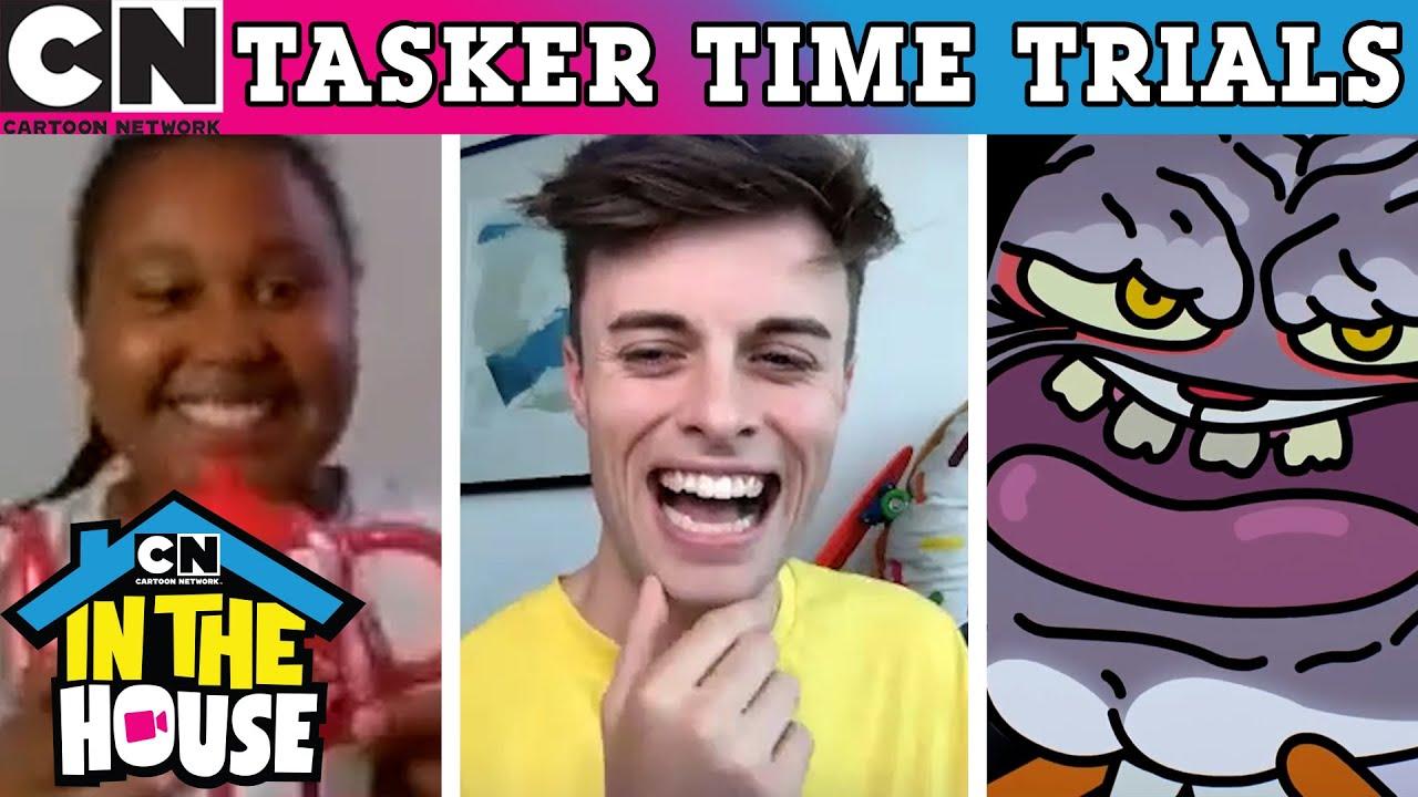 Tasker Time Trials | Cartoon Network UK 🇬🇧