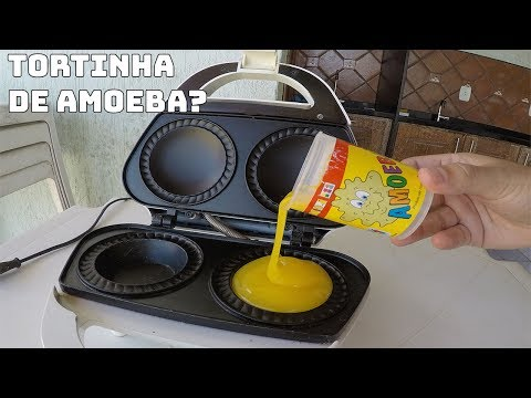 Get COLOQUEI AMOEBA NA MÁQUINA DE TORTINHAS E FIZ UMA TORTA DE AMOEBA?! Images