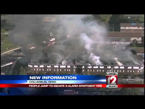 Downtown Columbus apartment building fire being investigated as ...
