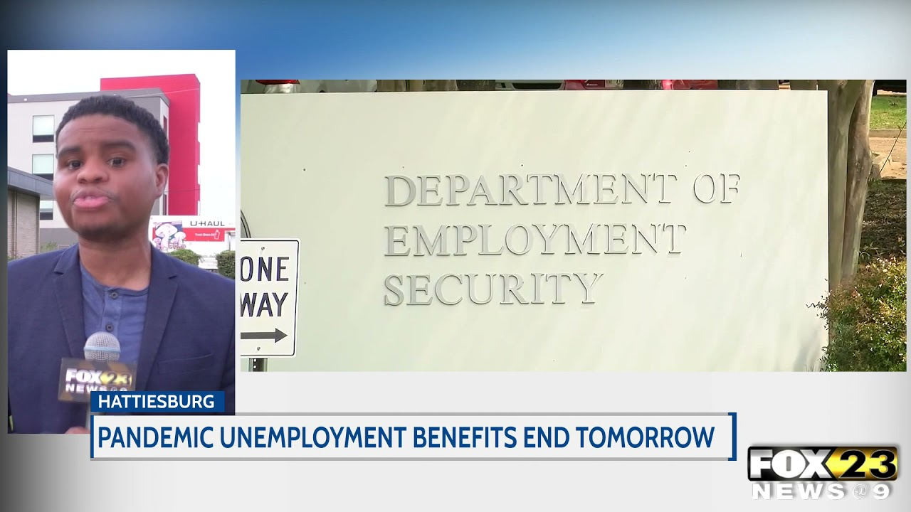 Pandemic unemployment benefits end