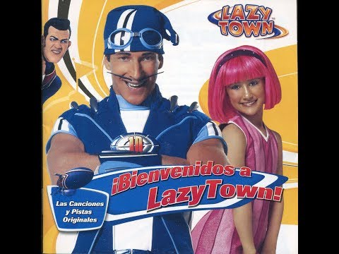 ¡Bienvenidos a LazyTown! Con letra CD  Lazy Town en Español