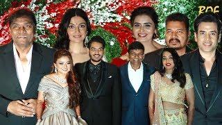 Many Celebrities attend Marriage Ceremony of Jayantilal Gada Son Akshay Gada