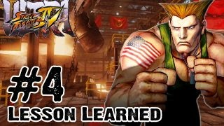 Ultra Street Fighter 4 - Gameplay Multiplayer Part 4 - Lesson Learned (Xbox 360, PS3, Nintendo 3DS)