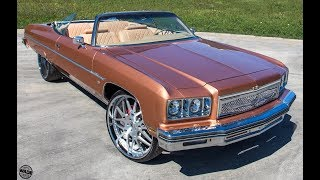 815 Motoring : Amber Rose Supercharged 75 Chevrolet Caprice on 26