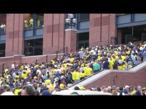 College Football GameDay in Ann Arbor - Michigan vs Notre Dame 09-07-2013