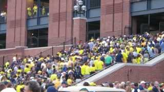 College Football GameDay in Ann Arbor - Michigan vs Notre Dame 09-07-2013