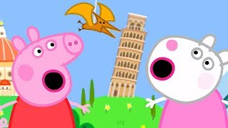 Download Peppa Pig Official Channel - Peppa Pig and Suzy Sheep Visits the Tiny Land! Mp3 and Videos