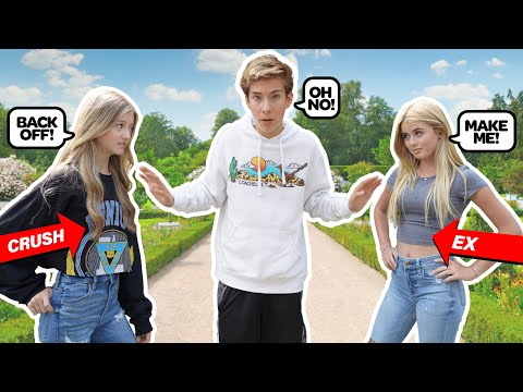 JEALOUS CRUSH MEETS My Ex GIRLFRIEND For The First Time! **SHOCKING REACTION** 😲💔  Sawyer Sharbino