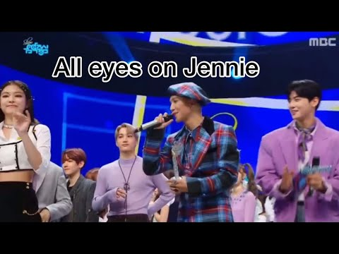 All eyes on Jennie ft Mino, Kai and Baekhyun Mp3