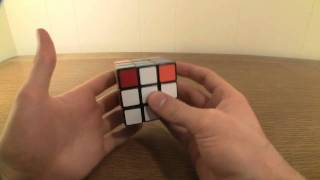 how to solve a rubik s cube finishing the blue cross