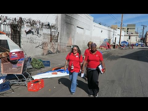 Watch the C3 Team on Skid Row in action