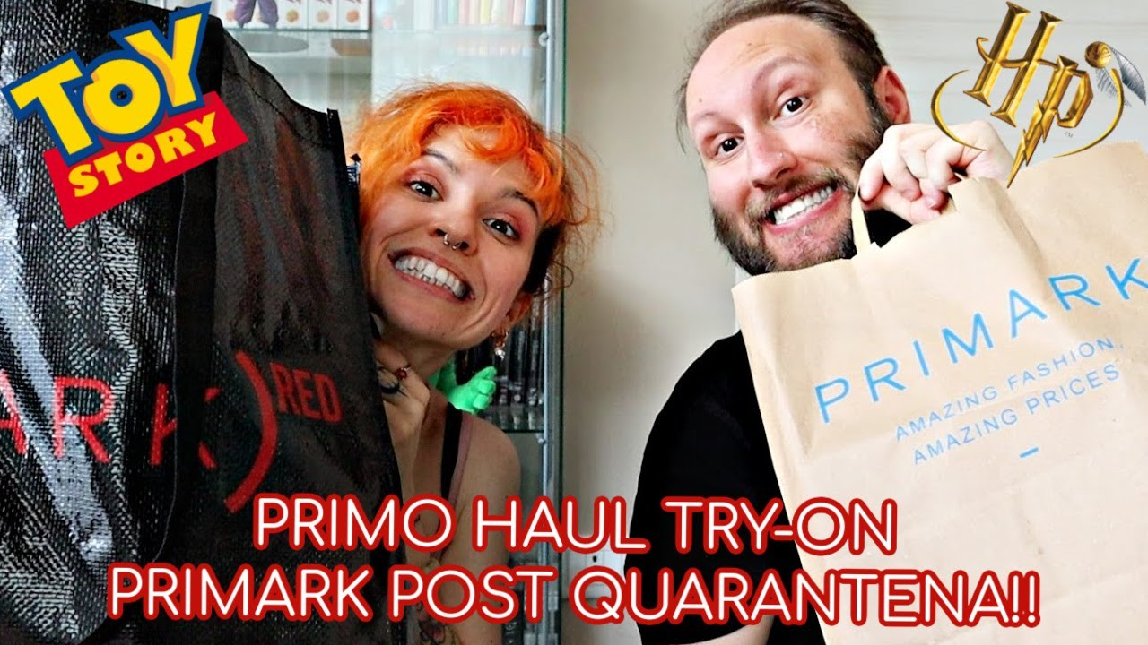 PRIMO TRY-ON HAUL DI PRIMARK POST QUARANTENA CON THBM!!! | shanti's candle