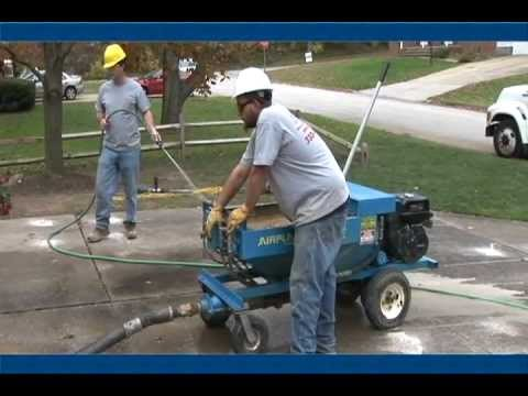 Mudjack Pump, Concrete Lifting, Concrete Leveling, AIRPLACO mudjack pumps, slabjack