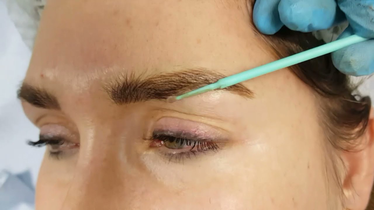 Fluffy Realism Eyebrows Microblading by El Truchan @ Perfect Definition