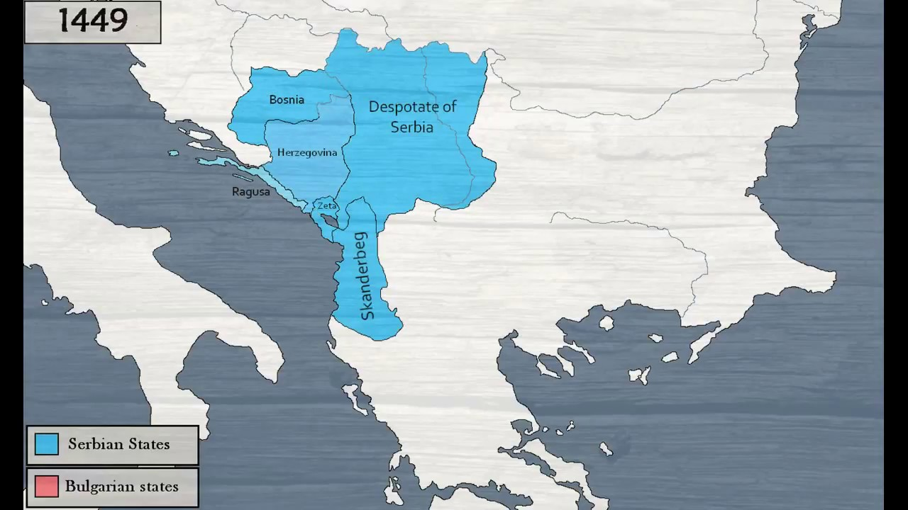 Bulgaria On Map Of World.History Of Serbia And Bulgaria 681 1496 Youtube