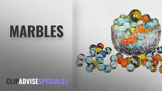 Top 10 Marbles [2018]: Zaid Collections 80 Pcs Of Glass Marbels With Shooter Unique Collection ( 500