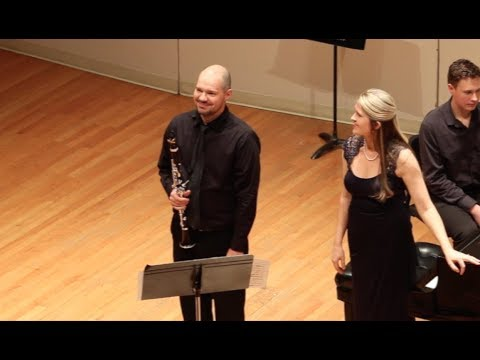Clarinet Solo with Piano. Debussy, Premiere Rhapsody.