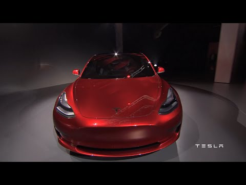 Tesla Model 3 Unveiling 2016-03-31 - HQ 1080P OFFICIAL with ORIGINAL SOUND