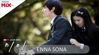 Download Enna sona | korean mix hindi song😍😍 - Romantic Love Story 2017 MP3 song and Music Video