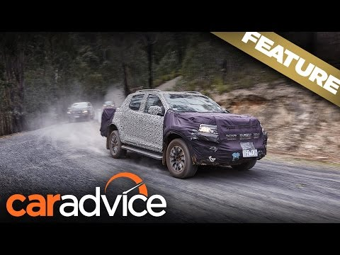 2017 Holden Colorado and Trailblazer engineering development drive | A CarAdvice Feature