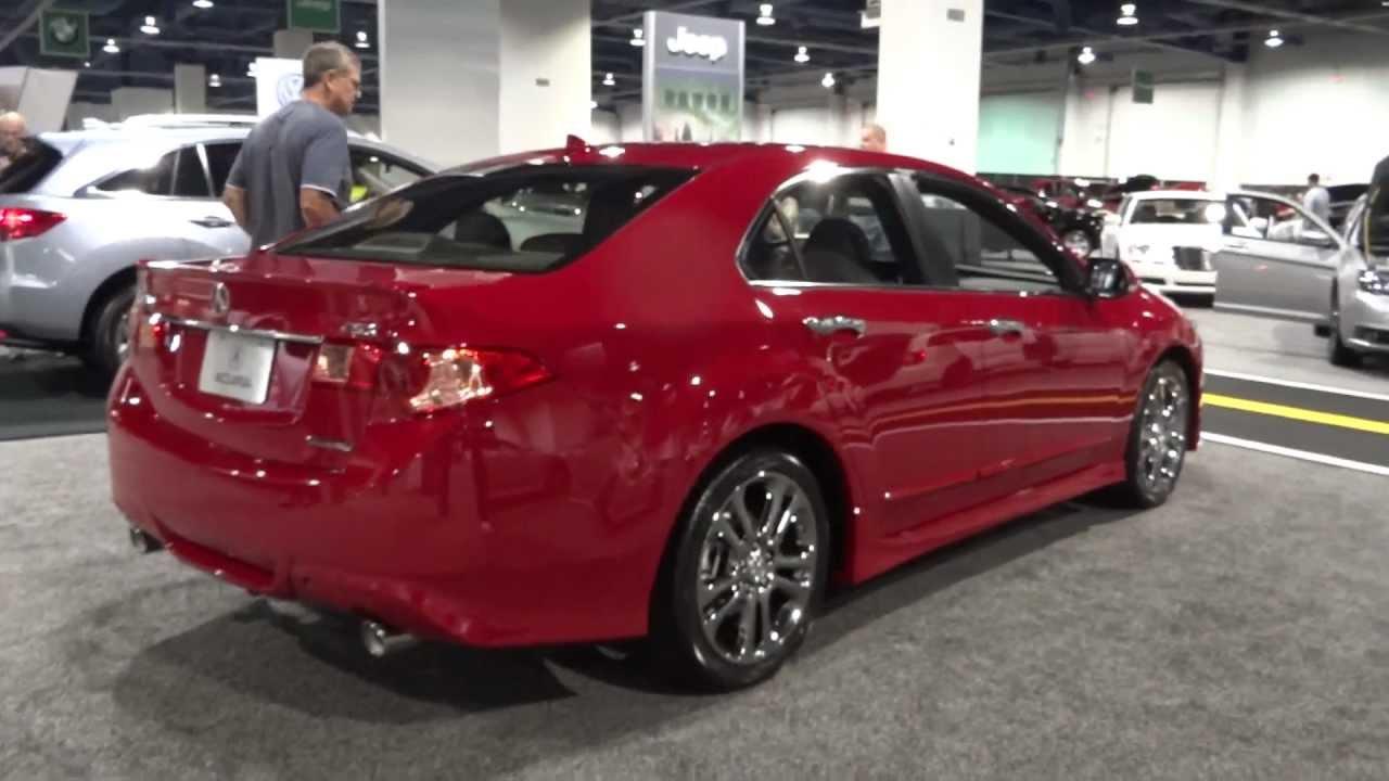 2013 Acura TSX Walkaround - YouTube