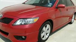 2011 Toyota Camry 4dr Sdn I4 Auto LE (Fort Worth, Texas) In- house, Bad credit car loans