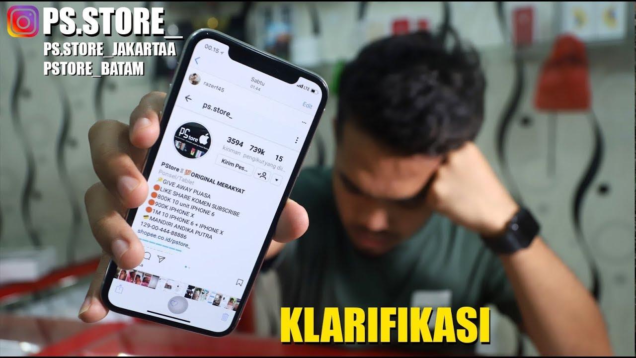 Klarifikasi Give Away Youtube
