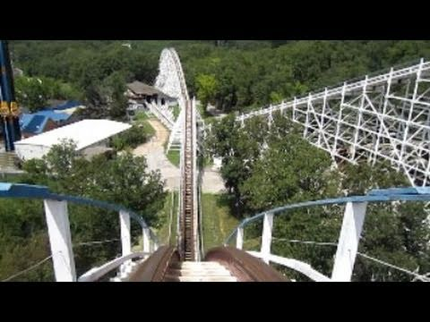 Fastest Roller Coaster In The World >> Screaming Eagle Front Seat on-ride HD POV Six Flags St. Louis - YouTube