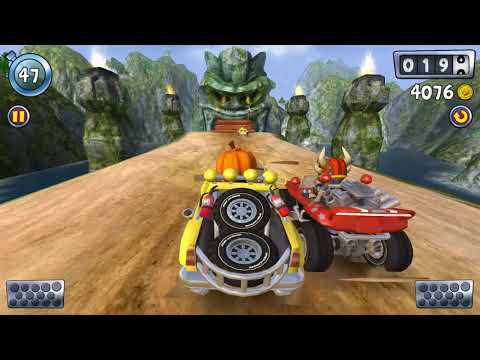 Beach Buggy Blitz | Mister Happy Racing With Rhino Supertruck | Endless Gaming