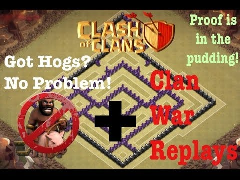 Clans why it s the best war base trophy defensive base for th 7 or th