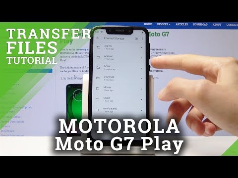 How To Move Data In Motorola Moto G7 Play - Copy / Transfer Files