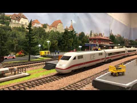 Modelleisenbahn H0 (Besuch von Harrys Bahnen Small Talk & Fahrvideo)