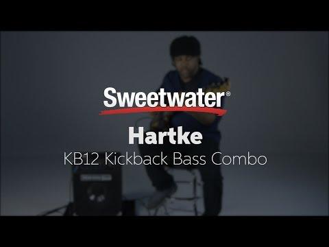 "Hartke KB12 Kickback 1x12"" Bass Combo Demo with Victor Wooten"