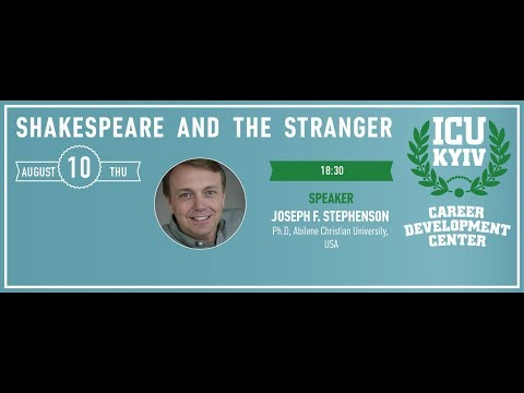 "ICU-Kyiv Night ""Shakespeare And The Stranger"""
